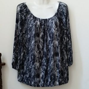Michael Kors Michael Top Size S Stretch Pullover